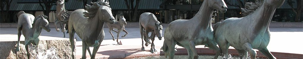 dallas-window-tinting-horse-sculpture